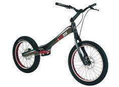 Monty M5 - Fabricada íntegramente en fibra de carbono. #biketrial