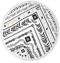Rip Curl 'Bohemian Sands' Round Cotton Beach Towel. Click the link to shop right now!