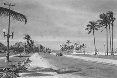 Orla de Ipanema  nos anos 50 - Rio de Janeiro