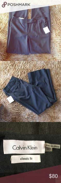 Calvin Klein Pants NWT. True to size. 🚫No trades ✅ Price Negotiable  ✅ Bundles ▪️smoke free/pet free home 📬 Same/Next day shipping  📷 Instagram: @laurenweichmann 📱Pinterest: SantoriniGirl13 Calvin Klein Pants