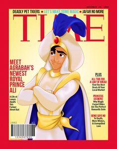 prince magazine 8 Disneys Männer auf dem Cover