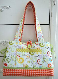 Craft Sew Create: Mini Bow Tucks Bag