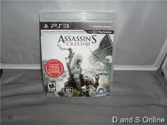 Assassins Creed 3 (Sony Playstation 3, 2012)