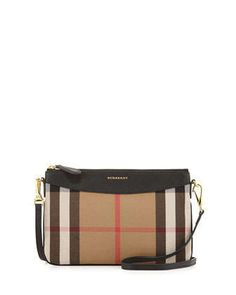 House Check Crossbody Bag Black by Burberry at Neiman Marcus. House Check Crossbody Bag Black by Burberry at Neiman Marcus. Burberry Handbags, Chanel Handbags, Leather Handbags, Burberry Bags, Burberry Crossbody Bag, Chanel Bags, Crossbody Bags, Luxury Bags, Luxury Handbags