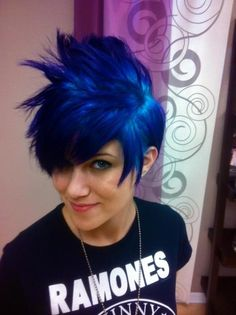 Blue and Purple 'Hawk