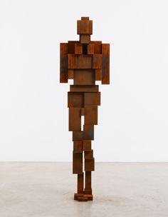 Human Sculpture, Wood Sculpture, Geometric Sculpture, Abstract Sculpture, Contemporary Sculpture, Contemporary Artists, Antony Gormley Sculptures, Corten Steel, Driftwood Art