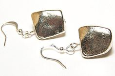 Exquisite Sterling Silver Nugget Earrings Simple , $33.00 http://www.etsy.com/treasury/MTEyNDE4NDB8MjcyMzMxNzM1NA/believe #681team