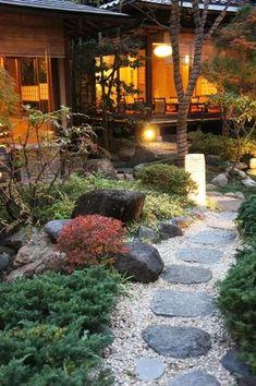 Inspiring small japanese garden design ideas 18 #japanesegarden #japanesegardening