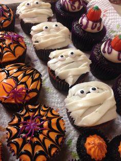 Halloween Cupcakes 2015