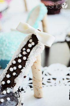 High Heel Cupcakes! Oooh La La.