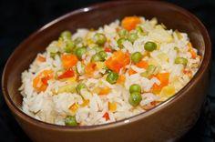 Cómo hacer arroz con verduras - Comedera.Com