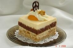 Romanian Desserts, Romanian Food, Romanian Recipes, No Cook Desserts, Sweet Desserts, Dessert Drinks, Cranberries, Vanilla Cake, Bakery