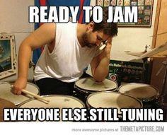 Typical drummer problem…