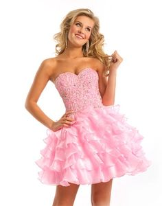 Fun Pink party dress #formalapproach