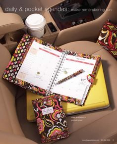 Vera Bradley has hands-down the best stationary, office supplies, and paper quality.  Love her planners and pocket folders too!