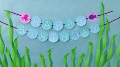 Under the Sea Birthday Party | Happy Birthday Banner - free printable