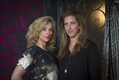 Tami Ramsay & Krista Nye Schwartz of CLOTH & KIND // 2015 DXV Design Panel, Water for Elephants. Photographed by Selena Salfen.