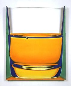 Glass of Brandy, James Rosenquist. A witty riff on the pop art's celebration of the commonplace, this 1969 painting suggests the rim of the glass with a strand of wire. Helping An Alcoholic, Eduardo Paolozzi, James Rosenquist, Pop Art Movement, Unusual Art, My Themes, Arte Pop, Consumerism, American Artists
