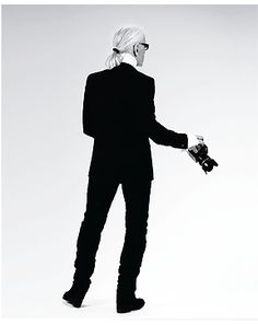 """""""I don't like standard beauty - there is no beauty without strangeness.""""—Karl Lagerfeld"""