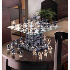 BLACK TOWER DRAGON CHESS SET - $179.00 #onselz