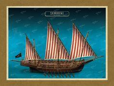 ΣΕΜΠΕΚΙ Όλες οι εικονογραφήσεις είναι από το βιβλίο της ΑΡΤΕΟΝ ΕΚΔΟΤΙΚΗΣ: Πειρατικά και κουρσάρικα σκαριά των θαλασσών μας. 18ος-19ος αιώνας. Ένα ταξίδι στον κόσμο των πειρατικών και κουρσάρικων σκαριών και στη ζωή των προγόνων μας. www.e-arteon.gr Sailing Ships, Boat, Dinghy, Boats, Sailboat, Tall Ships, Ship