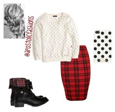 """""""Apostolic Fashions #790"""" by apostolicfashions on Polyvore featuring J.Crew, Steve Madden, Kate Spade and Reception"""
