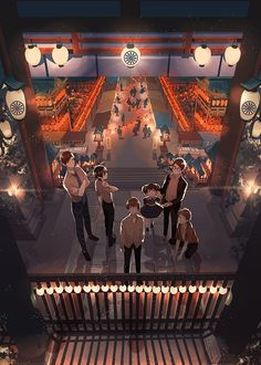 Paper Lanterns, Light Up the Darkness! - pixiv Spotlight