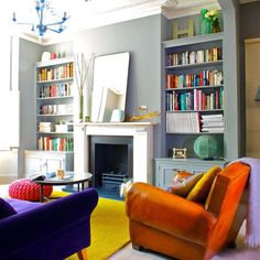 Could your living room be the wrong colour? See this great explanation by @farrowandball www.farrow-ball.com/how-light-affects-colour/content/fcp-content #interiordesign #interiors #homes #house Image by Ingrid Rasmussen