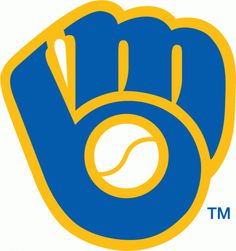 Growing up, I always thought that this old ('78-'93) Milwaukee Brewers logo was just a glove. Until today, when I realized it's an 'M' and a 'B' AND a glove. Wow... guess at age 12 I wasn't conditioned to be a designer yet.