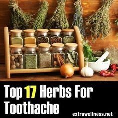 Stop Toothache FAST with these Top 17 natural remedies..A Must Read.....#toothpain, #remedies