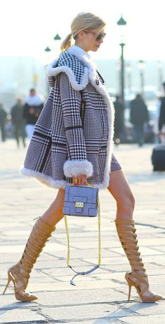 shoes, jacket, fashion, boot, black white, street styles, winter chic, coats, street chic