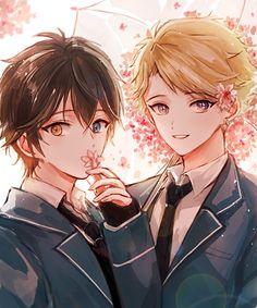 Ensembles stars Mika and Arashi
