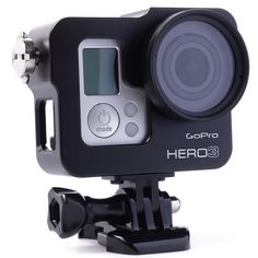 Gopro Accessories Black Gopro Accessories Aluminum Alloy Protective Housing Case for Gopro HD Hero3 3+