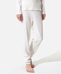 Loose knit floral print pants, null£ - null - Find more trends in women fashion at Oysho . Floral Print Pants, Printed Pants, Floral Prints, Sleepwear & Loungewear, Pyjamas, Beachwear, Lounge Wear, Sportswear, Fall Winter