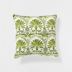 "Zara Home ""Green Palm Tree"" print cushion Tropical Style, Tropical Decor, Coastal Decor, Zara Home Australia, Conservatory Decor, Tropical Beach Houses, Zara Home España, Zara Home Collection, Palmiers"