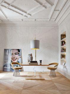Un salon original | #design, #décoration, #maison, #luxe. Plus de nouveautés sur http://www.bocadolobo.com/en/news/