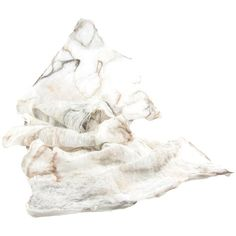 Nuno Felted Scarf Lightweight Scarf Gift for Her Fall Fashion Beige... (€51) ❤ liked on Polyvore featuring accessories and scarves