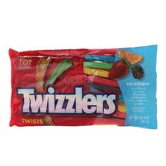 I'm learning all about Twizzlers Rainbow Twists Bag at @Influenster!