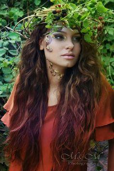 fairy tale styling Special Effects, Fairy Tales, Dreadlocks, Make Up, Hair Styles, Artist, Beauty, Hair Plait Styles, Hair Makeup
