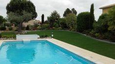Gazon synthétique tour de piscine - Toujours Vert - Castelnaud d'Estrefond - www.eldotravo.fr