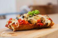 glutenfreies Pizza Baguette