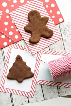 Can't wait to make handmade cinnamon ornaments with the kids this year! Makes my house smell so good