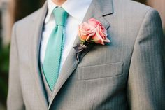 Pink Boutonniere|Riverland Studios| #Rose Boutonniere|See more: http://www.weddingwire.com/wedding-photos/i/rose-pink-boutonnieres/i/a4dec7e6ea87f7fb-35411513de54cd9f/387a5deb51b9aaff?tags=boutonnieres&page=5&cat=flowers&type=search