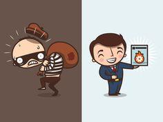 Bank Robber & Business Man