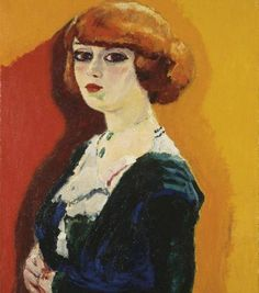 Kees van Dongen - Portrait de femme, 1905.