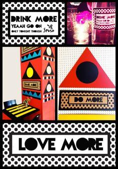 walalaland Camille Walala, Bar, Color Schemes, Pop Art, Africa, Palette, Graphic Design, Drinks, Illustration