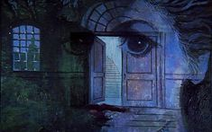 Night Gallery Season 1 - The House; painted by Tom Wright