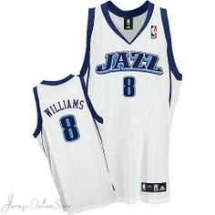 Utah Jazz Home Jerseys Deron Williams 8# NBA