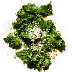 Braised Kale - I swap out the Parm with Manchego