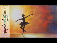 Oil Painting Tutorial: Flamenco Dancer - YouTube